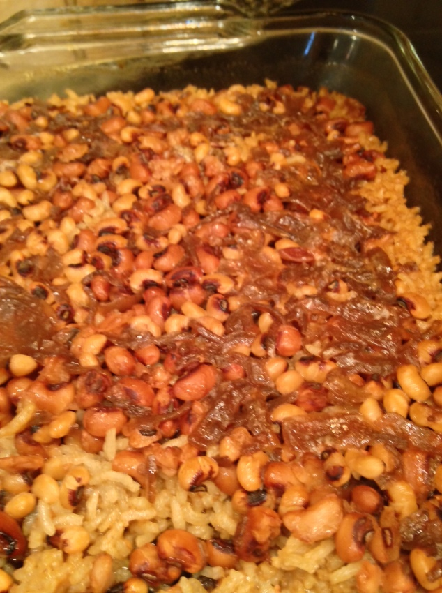 allthingsgoodandwise, corine's blackeyed peas and rice