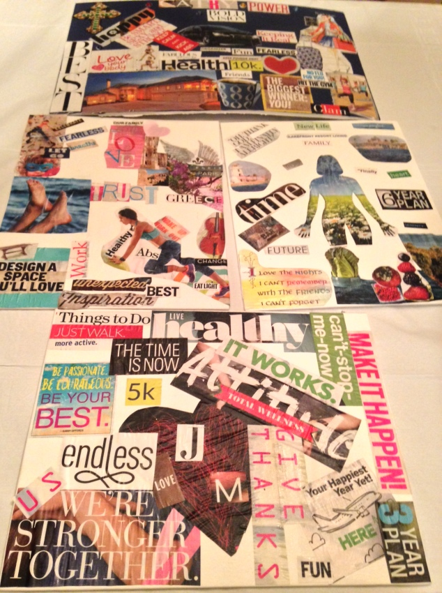 Vision Board brentwood life coach