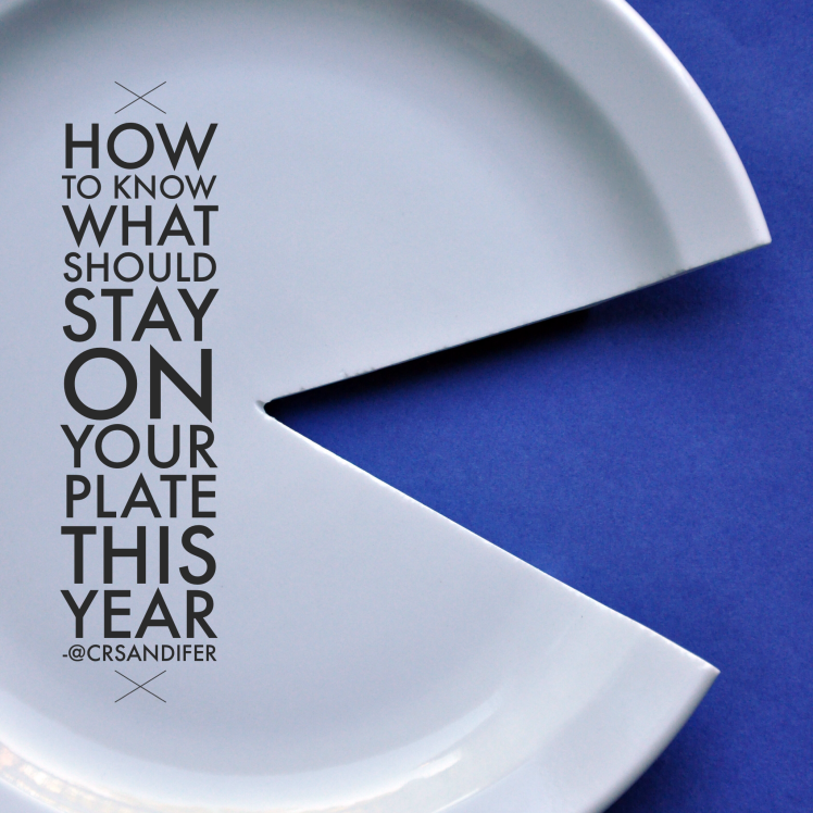 The SandiCor Method of taking things off your plate, spinning plates, allthingsgoodandwise